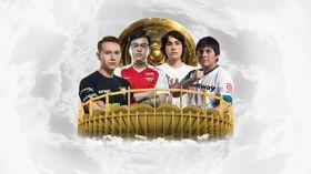 team Undying, T1, beastcoast and Virtus.pro Dota 2 players