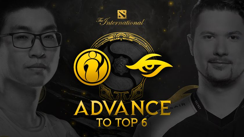 Secret and iG Dota 2 players Puppey and FlyFly at TI10