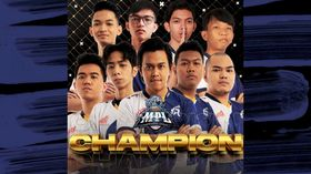 RSG MY is the champions of MPL Malaysia Season 7