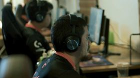TNC Dota 2 players at their computers