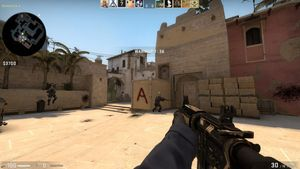 A screenshot of CS:GO
