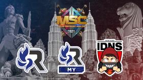 MSC 2021 Group A team logos