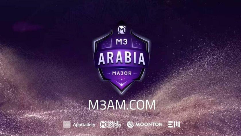M3 Arabia Major logo