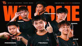 Team Flash full team MPL SG