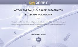 Introducing our Overwatch Draft Tool: OWDraft