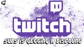 Twitch subs discount