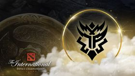 Thunder Predator logo with the Aegis and TI10 assets