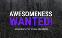 GosuGamers is recruiting PUBG editorial crew members