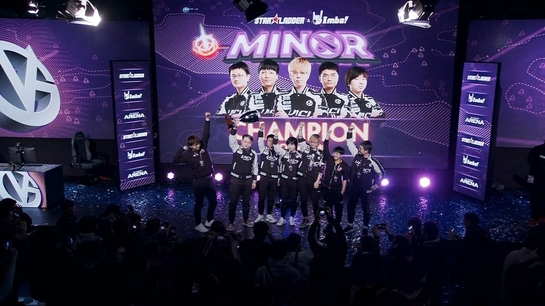 GosuGamers eSports News - ViCi Gaming claim StarLadder ImbaTV Kiev Minor title and a ticket to the Major