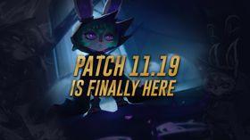 league of legends patch 11.19 worlds 2021