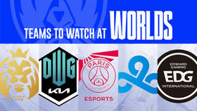 Worlds 2021 teams