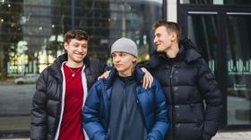 "The trio of Aleksi ""Aleksib"" Virolainen, Valdemar ""valde"" Vangså and Mateusz ""mantuu"" Wilczewski"