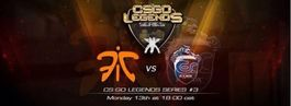 CSGO Legends Series #3 set to feature Fnatic and ESC
