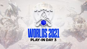 Worlds 2021 Play-In Group Stage day 3