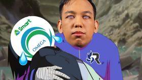 RSG PH cradling Smart Omega Esports meme