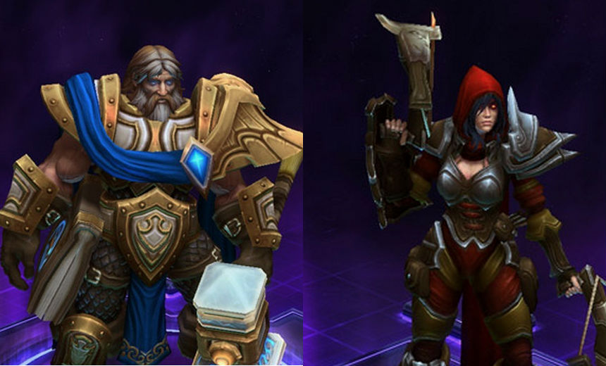 Blizzard to release Valla and Uther skins for remaining cast of Heroes.