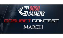 GosuBet March contest winners