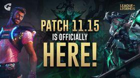 league of legends patch 11.15
