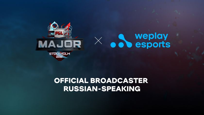 WePlay and PGL logos for the Stockholm CS:GO Major