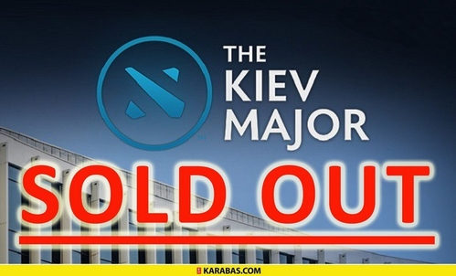 GosuGamers eSports News - Kiev Major tickets impossible to buy online, Karabas announce the event is SOLD OUT