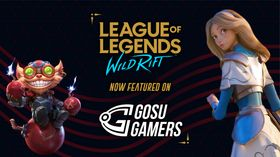 Wild Rift GG announcement with Ziggs and Lux