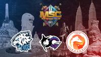 MSC 2021 Group B team logos