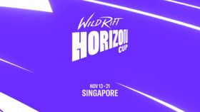Wild Rift Horizon Cup logo and dates