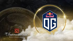 OG with TI10 logo and the Aegis of Champions