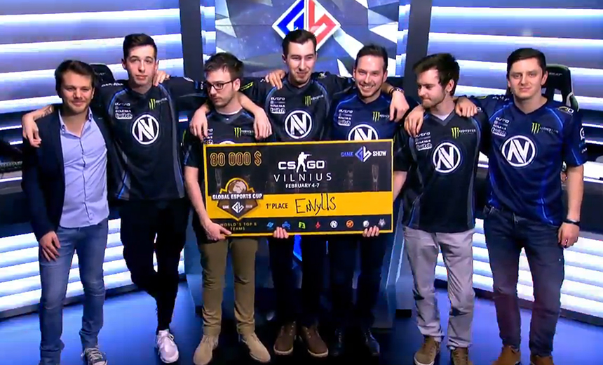 Team EnVyUs are the champions of GEC 2016