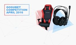Compete in our April GosuBet contest for one of six ROCCAT headsets and DXRacer gaming chair