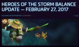 Heroes of the Storm Balance Update - February 27