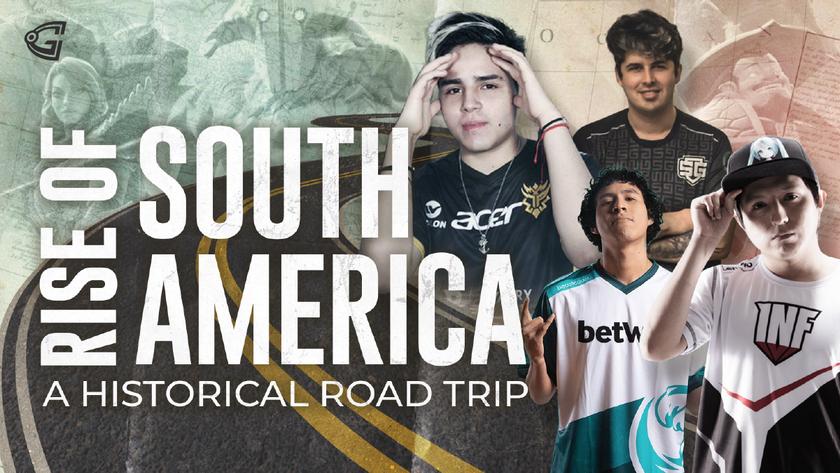 South America Dota 2