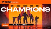 Fnatic are the EU VCT Stage 2 Challengers 2 champions