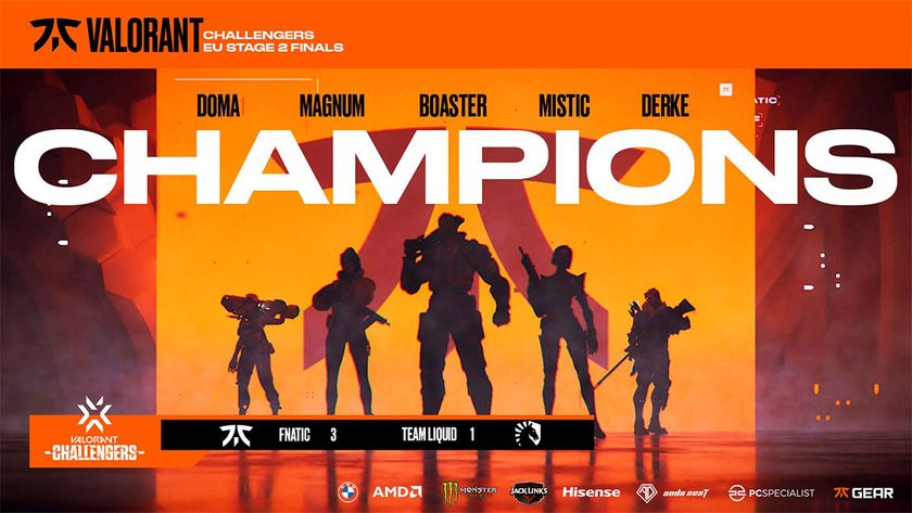 Winning proclamation from team Fnatic for Challengers 2