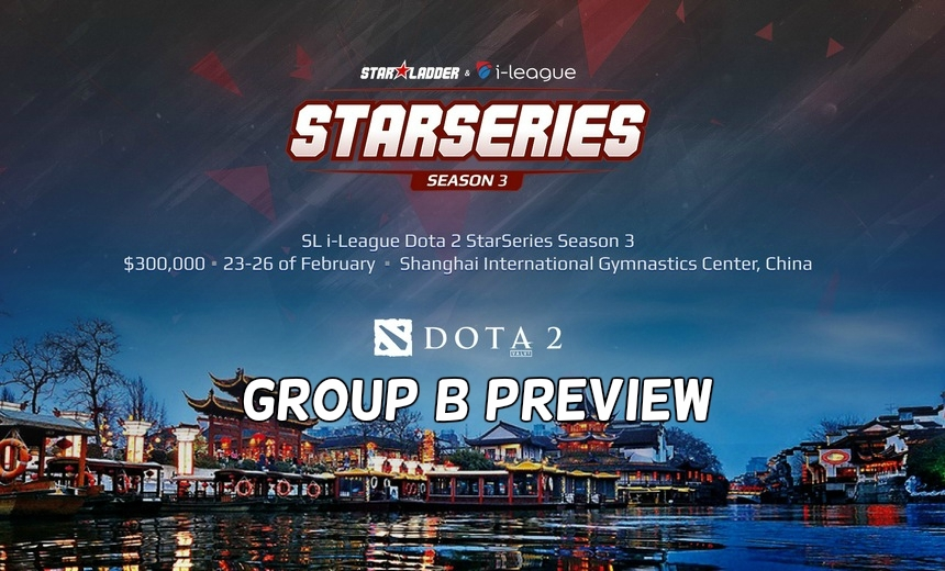 SL i-League StarSeries S3: the final test for the Kiev Major invites - Group B preview
