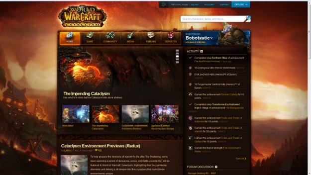 eSports News: New WoW Website Up And Running | GosuGamers