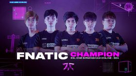 Fnatic take another win for SEA at ESL One Birmingham 2020