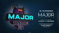 PGL announces ticket sales for Major Stockholm 2021