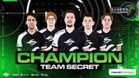Team Secret continue to win; Claim GWB 2020 title