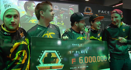 Fnatic are the champions of the FACEIT League Season 2