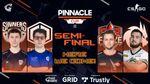Pinnacle Cup II Semi Final header