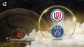PSG.LGD logo with the TI aegis on the background
