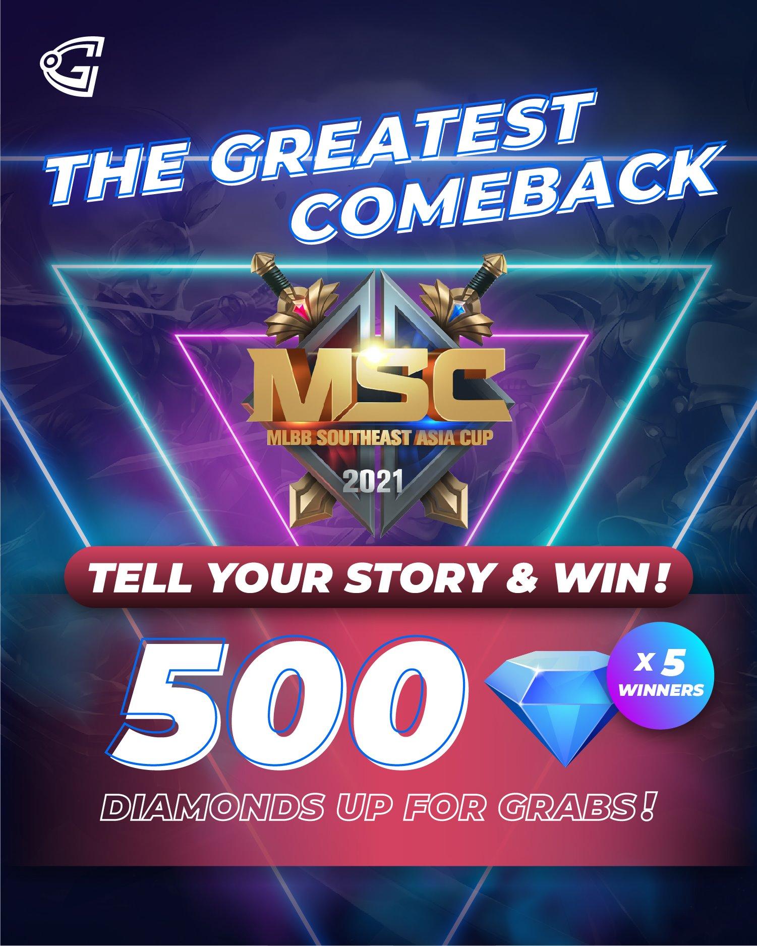 MSC 2021 Gosugamers competition