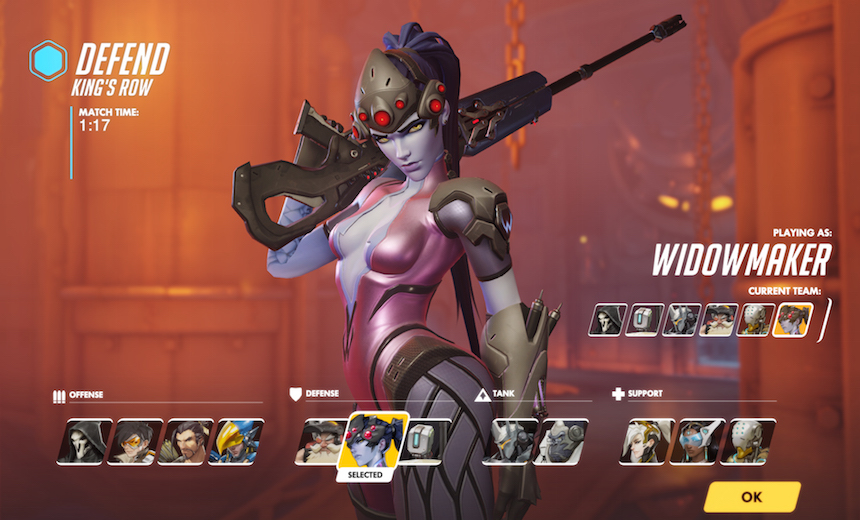 Will Widowmaker be an Overwatch eSports staple?