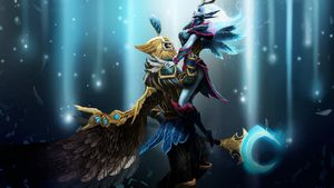 Unrequited love and tragedy; Skywrath Mage and Vengeful Spirit