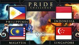 Battle between countries in PRIDE Challenge