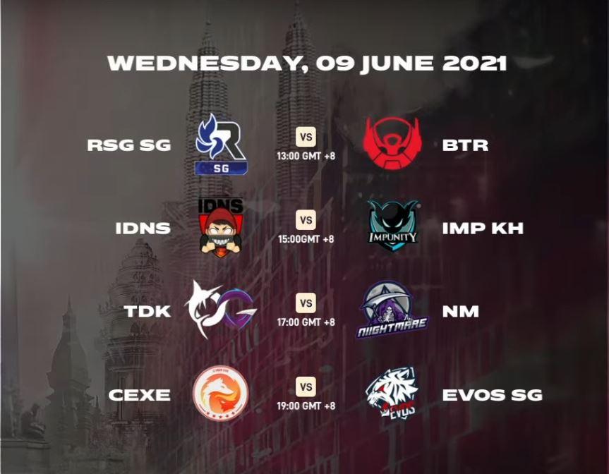 MSC 2021 Day 3 schedule