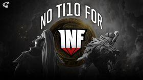 Infamous logo over the TI10 Aegis
