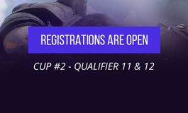 The final two Enter the Storm qualifiers - hurry up and sign up!