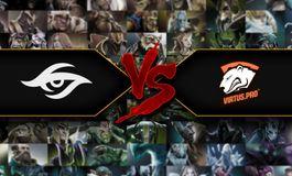One-way Elimination Mode - Team Secret vs Virtus Pro; Puppey vs Solo